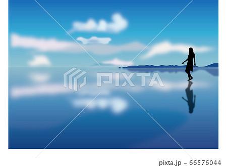 ウユニ塩湖 66576044