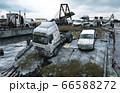 Apocalypse sea view. Destroyed bridge. Armageddon concept. 3d rendering. 66588272