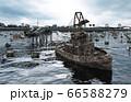 Apocalypse sea view. Destroyed bridge. Armageddon concept. 3d rendering. 66588279