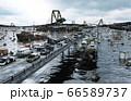 Apocalypse sea view. Destroyed bridge. Armageddon concept. 3d rendering. 66589737