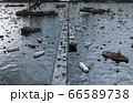 Apocalypse sea view. Destroyed bridge. Armageddon concept. 3d rendering. 66589738