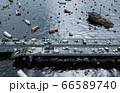 Apocalypse sea view. Destroyed bridge. Armageddon concept. 3d rendering. 66589740