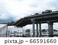 Apocalypse sea view. Destroyed bridge. Armageddon concept. 3d rendering. 66591660
