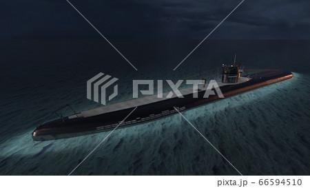 潜水艦 66594510
