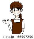 パン屋の女性 66597250
