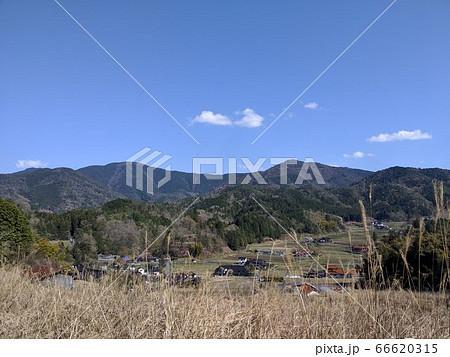 広島県安芸高田市向原町神の倉山から見た風景 66620315