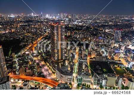 《東京都》東京都市夜景・池袋周辺 66624568