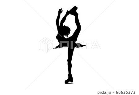 ウィンタースポーツシルエットフィギュアスケート7 66625273