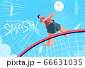 Badminton tournament poster 66631035