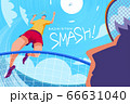 Badminton tournament poster 66631040