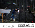 Construction worker And working in the construction area of tall buildings 66639313