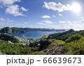 小笠原 父島 三日月山展望台からの景色⑵ 66639673