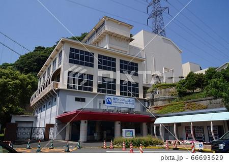 山口県 下関市の関門トンネル人道入口 66693629