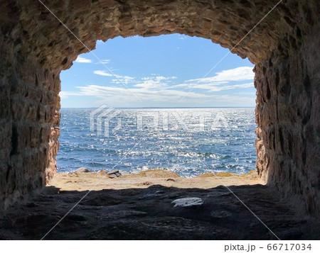 デンマークの島クリスチャンスーから見える美しい海 66717034
