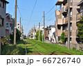 東急世田谷線・世田谷駅付近の風景 66726740