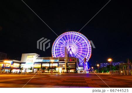 天保山ハーバービレッジの観覧車:大阪南港 66744525