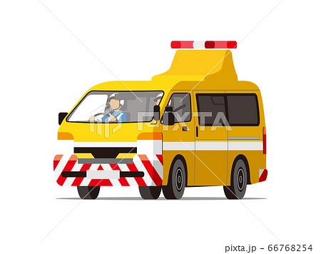 高速パトロール隊、交通管理隊、高速道路、作業車(斜め前向き) 66768254