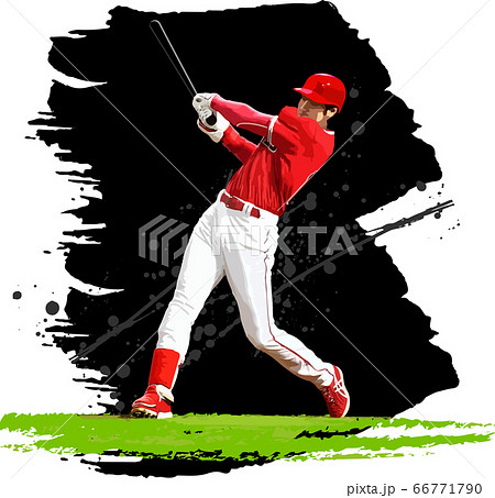 野球-バッター1.eps 66771790
