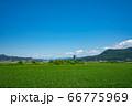 上山市 スカイタワー シンボル 高層ビル 田舎 66775969