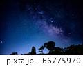 天の川 星空 天体観測 コロナ 66775970