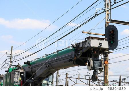 鉄道クレーン 66804889