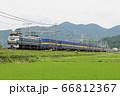 EF66機関車牽引貨物列車 66812367