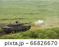 主砲を発射する90式戦車 66826670