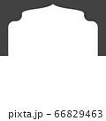 Mosque window vector icon 66829463
