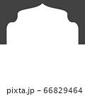 Mosque window vector icon 66829464