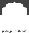 Mosque window vector icon 66829468