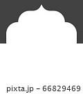 Mosque window vector icon 66829469