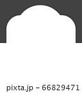 Mosque window vector icon 66829471