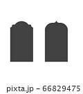 Mosque window vector icon 66829475