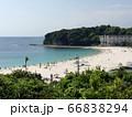白浜の海 66838294