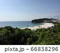 白浜の海 66838296