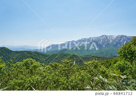 新潟県 国道352号線からの眺め 66841712