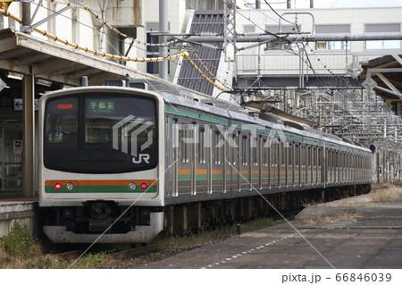 宇都宮線205系8両(元京葉線車両) 66846039