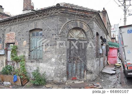 100年を超える旧市街戸建住宅(中国・大連) 66860107
