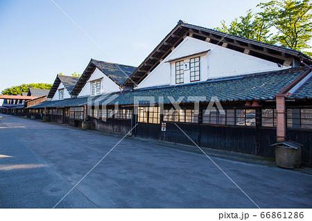 山形県酒田市の観光名所 山居倉庫② 66861286