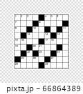 square empty crossword grid 66864389