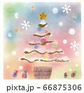 パステルの温かクリスマス 66875306