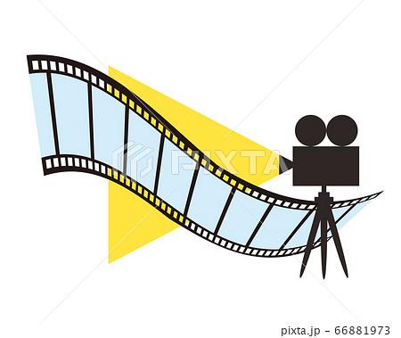 映写機 シネマ フィルム イメージ 映画 66881973