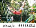 Kids outdoor having fun 66883638