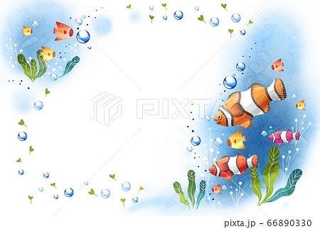 夏の爽やかな海のテクスチ 66890330