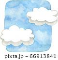 青空と雲 66913841