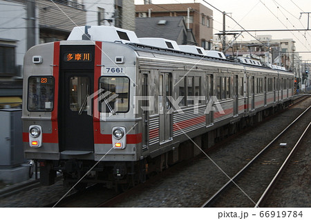 [IK]東急池上線7600系(歌舞伎塗装) 66919784