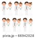 結婚式カップル全身 66942028