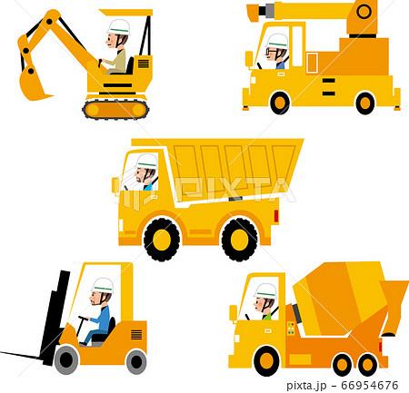 工事用作業車 66954676