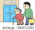 要介護者の外来通院 66971283