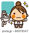 がっこうKids ウイルスに負けない 手洗い女子 66978547